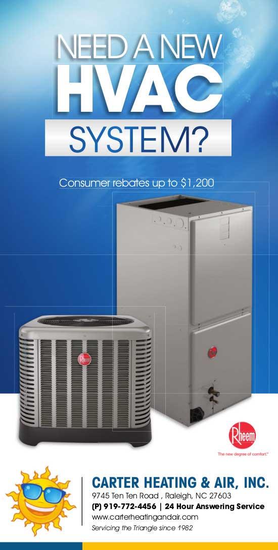 Hvac Specials Carter Heating Amp Air Raleigh Ac Repair